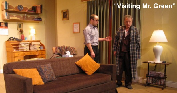 """""""Visiting Mr. Green"""" at the Domino Theatre, Jan 9 - 25, 2014"""
